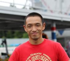 主催者はもちろん、世界の青木宣篤選手!ちびっ子達にバイクを通じてレースの楽しさと道徳・マナーを厳しく教えています