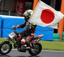 「Kids50+70」クラスで優勝した藤田哲弥選手!