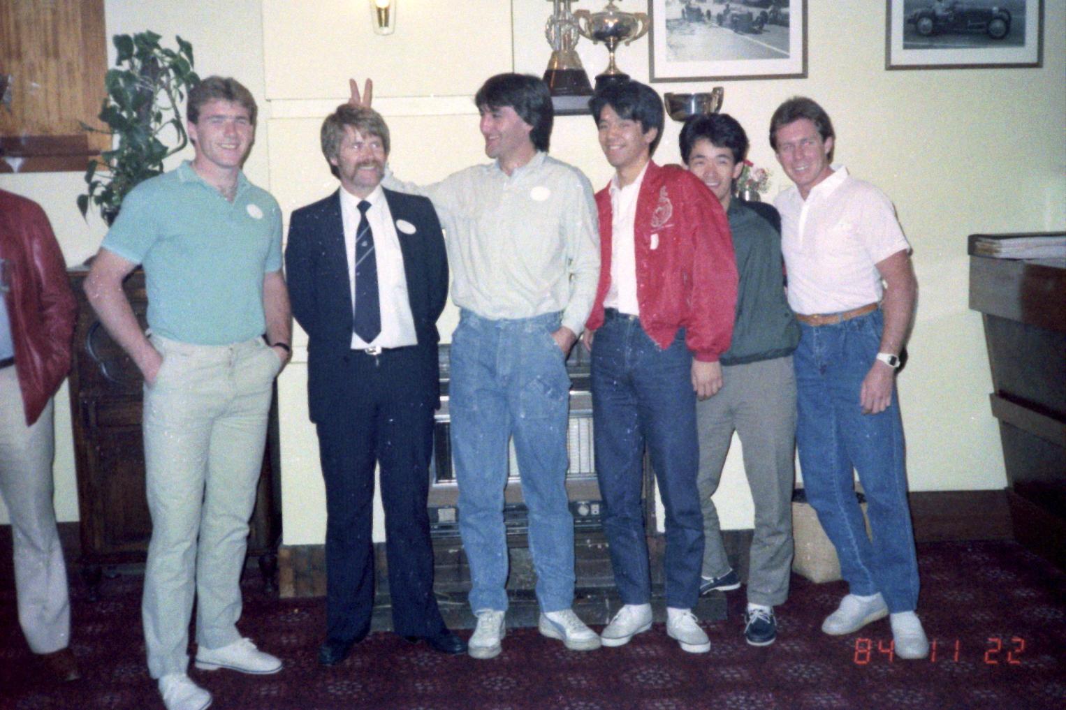 1984_Australia 11-22(ウェルカム・レセプション)